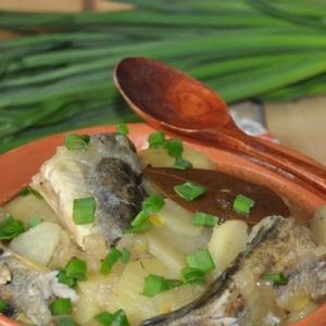 Повседневная кухня - Рыба в карельском стиле
