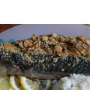 Скумбрия - Рыбка, фаршированная грибами