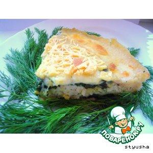 Ленок - Рыбная лазанья