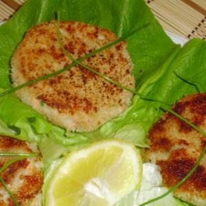 Диетические рецепты - Рыба - Рыбно-картофельные котлеты по-немецки