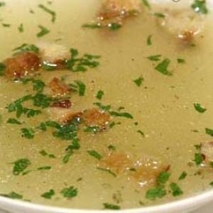 Субпродукты - рыбный бульон по-белорусски