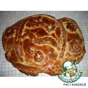 Скумбрия - Рыбный пирог