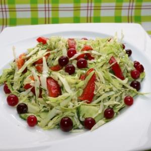 Клюква - Салат Атака витаминов