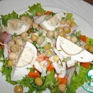 Сельдь - Салат c авокадо и сельдью