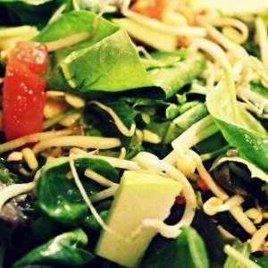 Вегетарианская кухня - Салат Фолиевый