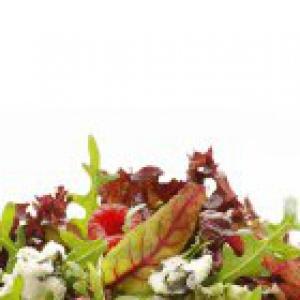 Мангольд - Салат фруктовый с сыром рокфор