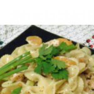 Мандарин - Салат-гарнир с мясом и мандаринами