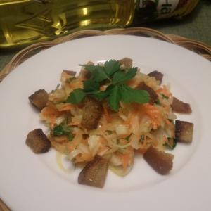 Редька - Салат из капусты и редьки