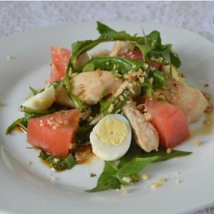 Одуванчик - Салат из одуванчиков