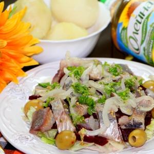 Салат - Салат из сельди и свеклы