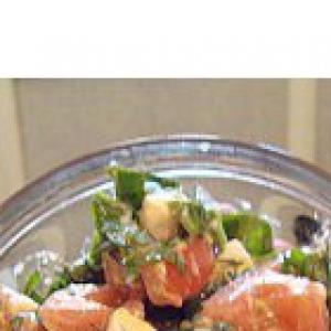 Рецепты греческой кухни - Салат из шпината и феты