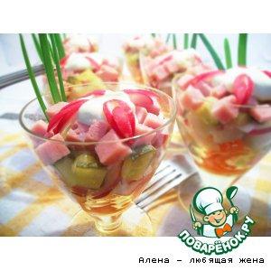 Рецепты скандинавской кухни - Салат-коктейль
