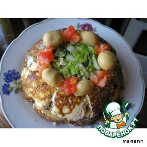 Плавленый сыр - Салат «Купол»