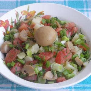 Рецепты португальской кухни - Салат по-португальски