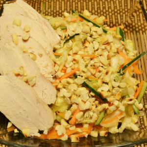 Арахис - Салат по-вьетнамски с курицей и арахисом