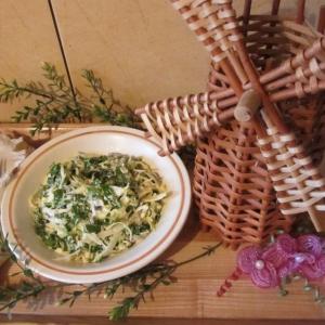 Желудки - Салат с черемшой Салатовая весна!