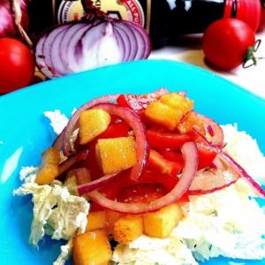 Хурма - Салат с хурмой Самый вкусный