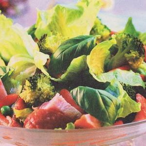 Кукуруза - Салат с копченым мясом