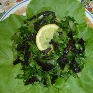 Чернослив - Салат с сельдереем и черносливом