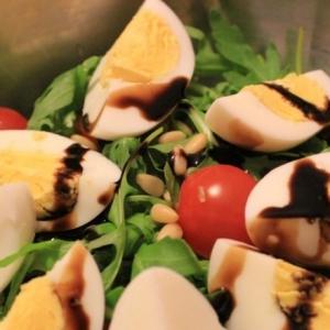 Тунец - Салат с тунцом и зеленью