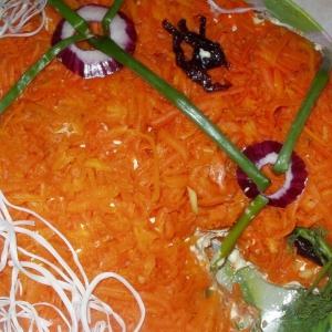 Авокадо - Салат-торт Лошадка