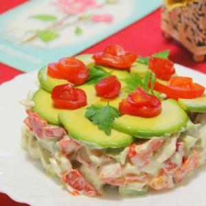 Рецепты итальянской кухни - Салат Ты моя нежность