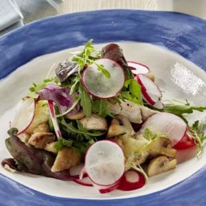 Рецепты итальянской кухни - Салат Вальялле c майонезом