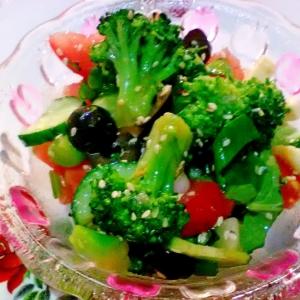 Брокколи - Салат Все по вкусу