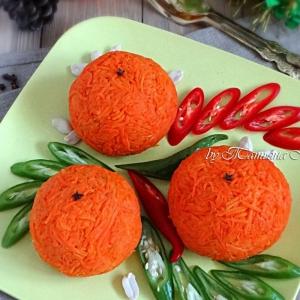Арахис - Салат-закуска Апельсин