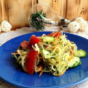 Вегетарианская кухня - Салат-закуска Бодрость духа