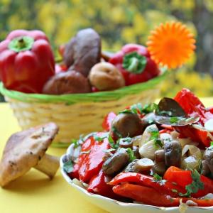 Шампиньон - Салат-закуска Осень золотая
