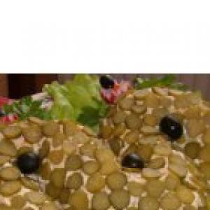 Горбуша - Салат