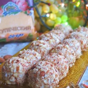 Рецепты для блендера - Салатные шарики а ля тиффани