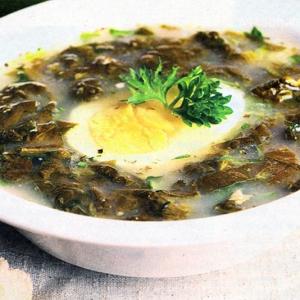 Рецепты супов - Щавелевый суп