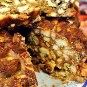 Рецепты арабской кухни - Щербет с вареной сгущенкой и орехами