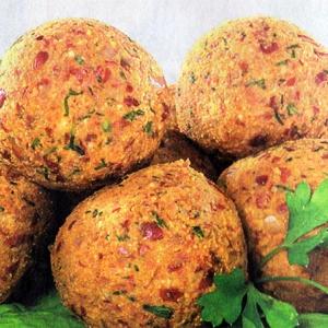 Рецепты закусок - Шарики из фасоли