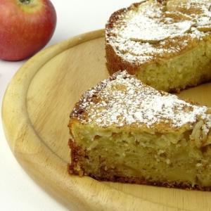 Рак - Шарлотка с яблоками в духовке