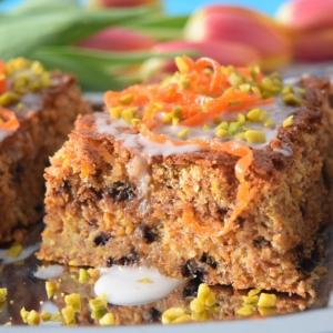 Миндаль - Шоколадно-морковный пирог