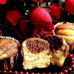 Маргарин - Шоколадно-ванильный кексы