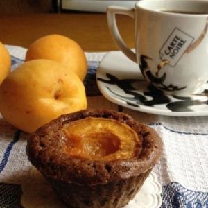 Абрикос - Шоколадные кексы с абрикосами