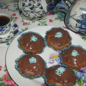 Маргарин - Шоколадные кексы с халвой
