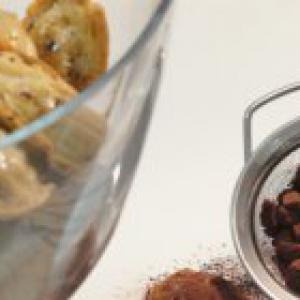 Бобы - Шоколадные мадленки с имбирем