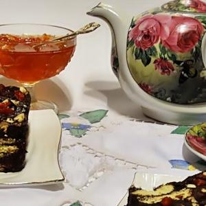 Ликер - Шоколадный десерт с орехами