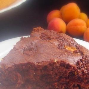Абрикос - Шоколадный пирог Елена и Ольга