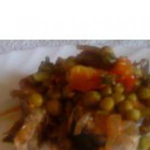 Скумбрия - Скумбрия с зеленым горошком