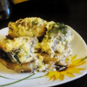 Скумбрия - Скумбрия, запеченная с картофелем в сметанном соусе
