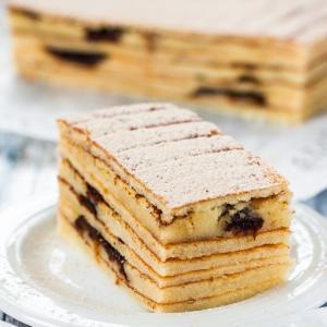 Рецепты малайской кухни - Слоеный десерт Куэй Лапис