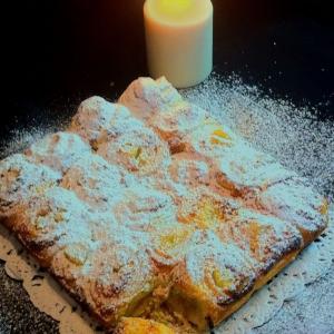 Ананас - Слоёный пирог с кокосовым кремом и ананасом