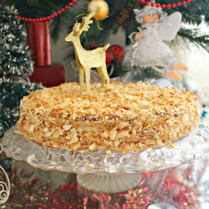 Тесто - Слоеный торт Желание