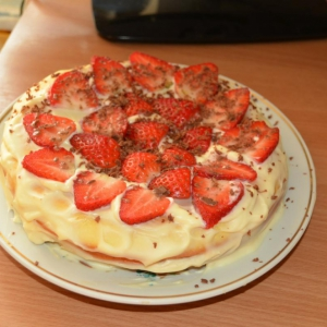 Рецепты для мультиварки - Сметанный пирог в мультиварке